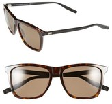 Christian Dior '177S' 55mm Polarized Sunglasses