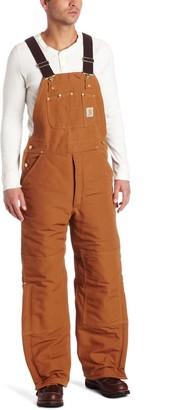 Carhartt Men's Arctic Quilt Lined Duck Bib Overalls