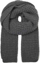 Richard James Wool Waffle Scarf