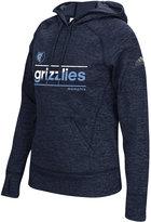 adidas Women's Memphis Grizzlies Color Slant Hoodie