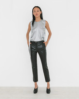 Helmut Lang Straight Leather Pant