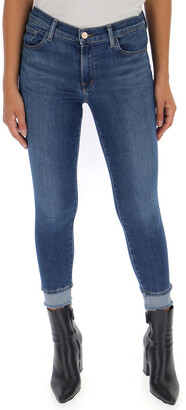 J Brand Double Hem Jeans