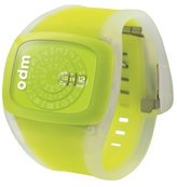o.d.m. Unisex DD100-3 Spin Series Yellow Watch