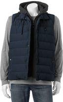 Chaps Men's Hooded Puffer Vest