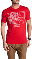 Junk Food Clothing Keith Haring USA Flag Tee