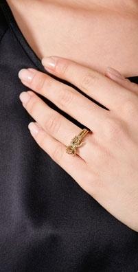 Rachel Leigh Olivia Bow Ring