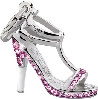 Glamour World Chain and Charm Sandal with Swarovski Crystals
