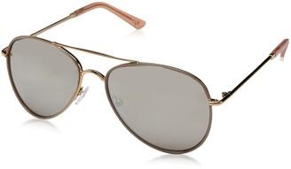 H Halston Women's HH 632 Aviator Fashion Designer UV Protection Sunglasses
