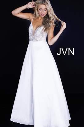 Jovani Sweet White Gown