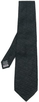 Versace Pre Owned 1990's Textured Tie