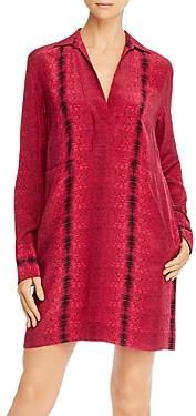 Equipment Riannon Printed Silk Dress