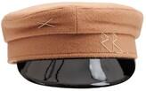 Thumbnail for your product : Ruslan Baginskiy Wool Baker Boy Cap