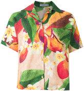 Isolda - short sleeves mango blouse - women - Linen/Flax - 36