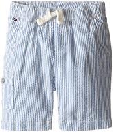 Tommy Hilfiger Tom Seersucker Pull-On Shorts (Infant)