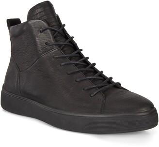 Ecco Street Tray High Top Sneaker
