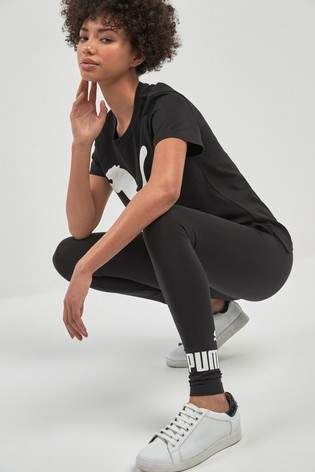 Next Womens Puma Black Essentials Legging