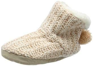 New Look Women's Narie Hi-Top Slippers, Beige (Oatmeal),5-6 UK (Medium)
