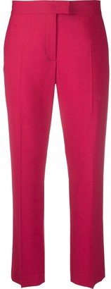 Paul Smith Mid-Rise Cropped Tailored Trousers