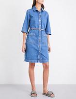 MiH Jeans Lola rainbow-belt denim dress