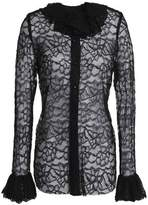 Anna Sui Fluted Lace Top