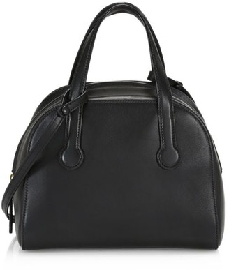 The Row Sporty Bowler Leather Bag
