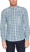 Benetton Men's Casual Shirt,(Manufacturer Size: EL)