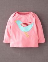 Boden Girls' Appliqué T-shirt