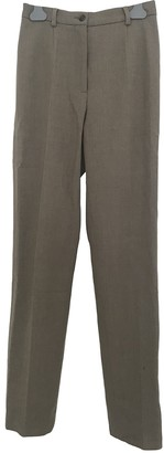 Max Mara Camel Wool Trousers