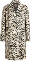 Roberto Cavalli Printed Virgin Wool Coat