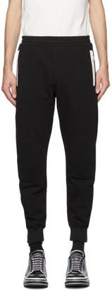 Alexander McQueen Black Joggers Lounge Pants