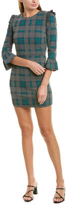 J.o.a. Ruffled Mini Dress