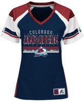 Majestic Women's Colorado Avalanche Ready to Win Shimmer Jersey