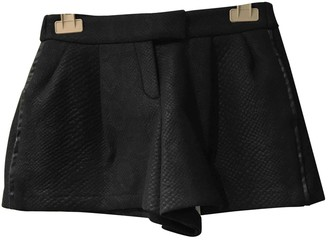 Maje Black Shorts for Women