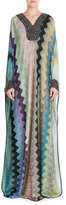 Missoni Embellished Crochet Knit Maxi Dress