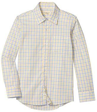 Appaman Kids The Standard Shirt (Toddler/Little Kids/Big Kids) (Mediterranean Plaid) Boy's Clothing