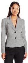 Kasper Women's Petite 2 Button Jacket