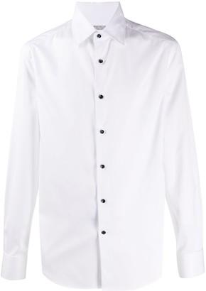 Brunello Cucinelli Plain Long-Sleeved Shirt