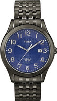Timex Mens Black & Blue Expansion Band Watch