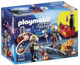 Playmobil NEW City Action Firefighters with Water Pump