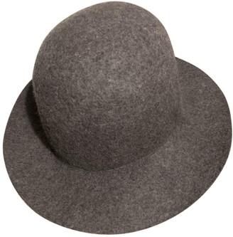 Maison Margiela Grey Wool Hats