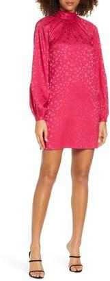 Ali & Jay Samantha Floral Satin Mini Dress