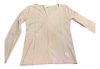 Courreges Pink Cotton Top for Women Vintage