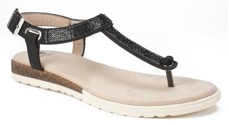 White Mountain Footwear Parana Embellished T-Strap Sandal