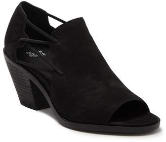 Eileen Fisher Nikki Peep Toe Block Heel Sandal