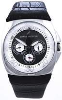 Daniel Hechter Men Quartz Watch analogue Display and Leather Strap DH03121NAN