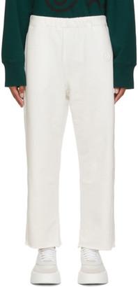MM6 MAISON MARGIELA White Logo Lounge Pants