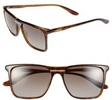 Carrera Women's Eyewear 55Mm Retro Sunglasses - Havana