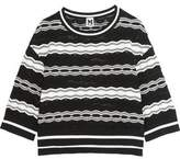 M Missoni Crochet-Knit Sweater