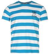 Soulcal Yarn Dye V Neck T Shirt