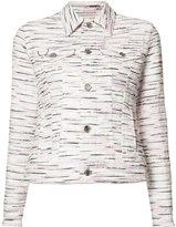 Julien David patterned jacket - women - Cotton/Acrylic/Cupro/Nylon - S